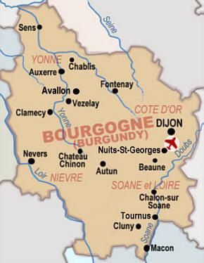 Mapa-de-Borgoña